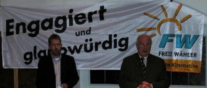Freie Wähler wollen verstärkt in den Gemeinderat