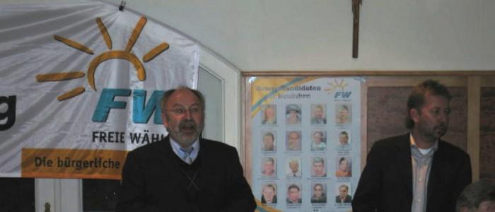 Bürgerversammlung Neufahrn