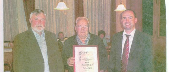 Michael Wagener zum Ehrenmitglied ernannt