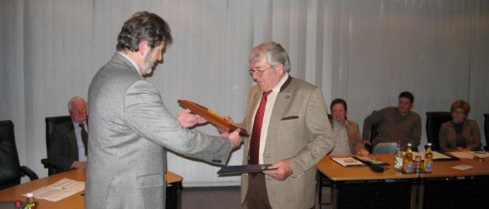 Gemeinderatssitzung / Verabschiedung Heribert Barth