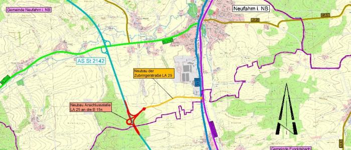 Weitere Anschlussstelle B15 NEU