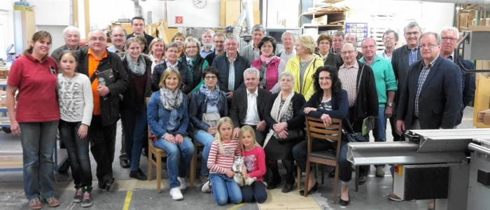 Kreistreffen bei Fa. Weissacher, Essenbach