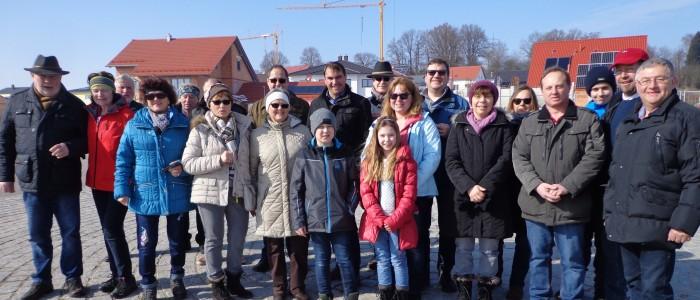 FW-ler genossen Winterwanderung