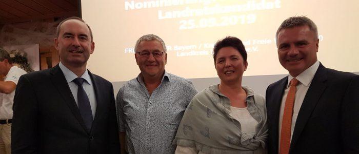 Peter Dreier als Landratskandidat 2020 nominiert